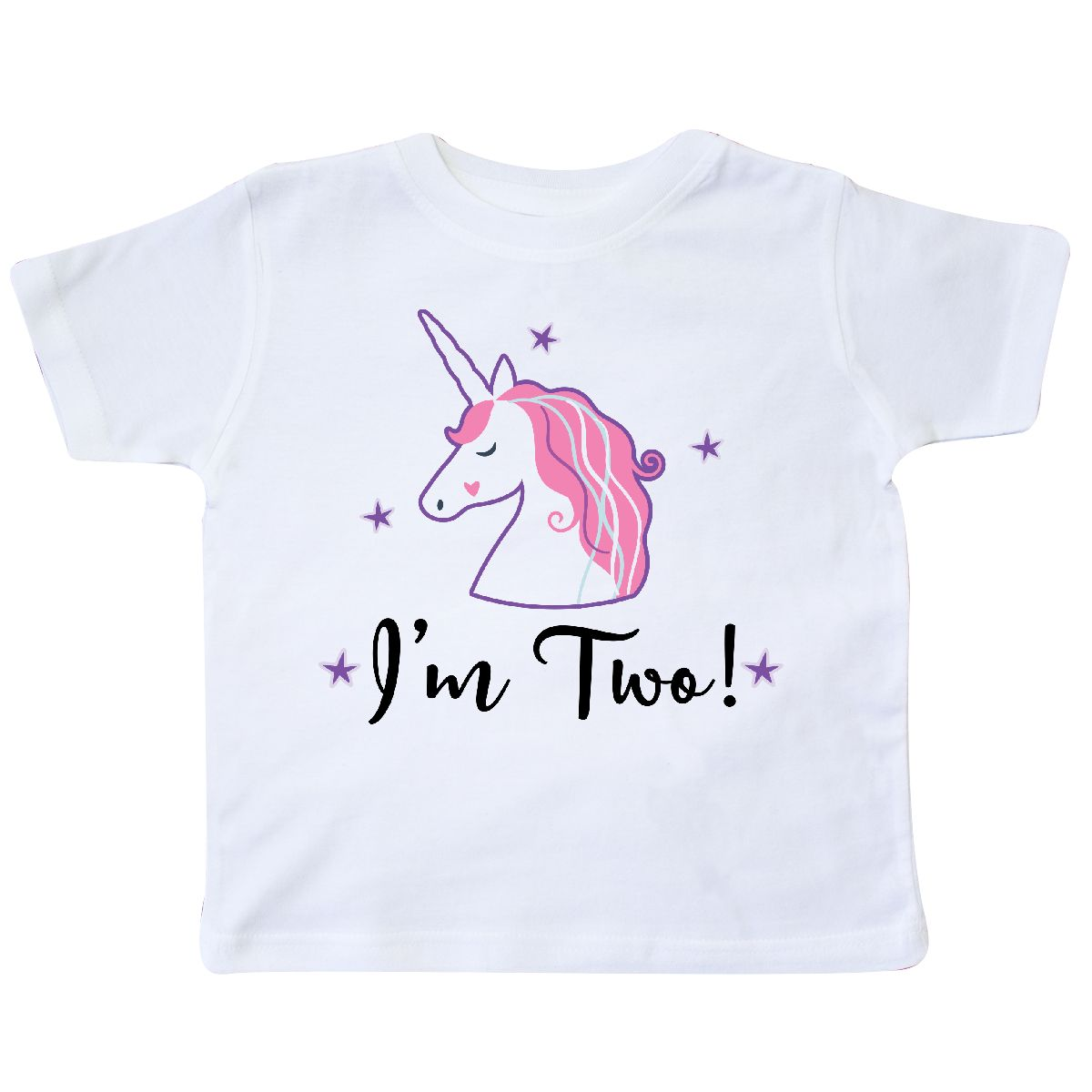 Inktastic 2nd Birthday Unicorn Party Toddler T Shirt