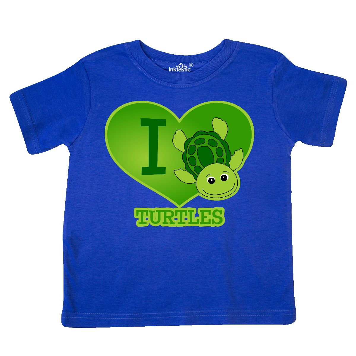 Inktastic-I-Love-Turtles-Toddler-T-Shirt-Cute-Heart-Sea-Turtle-Cartoon-Funny-Kid thumbnail 3
