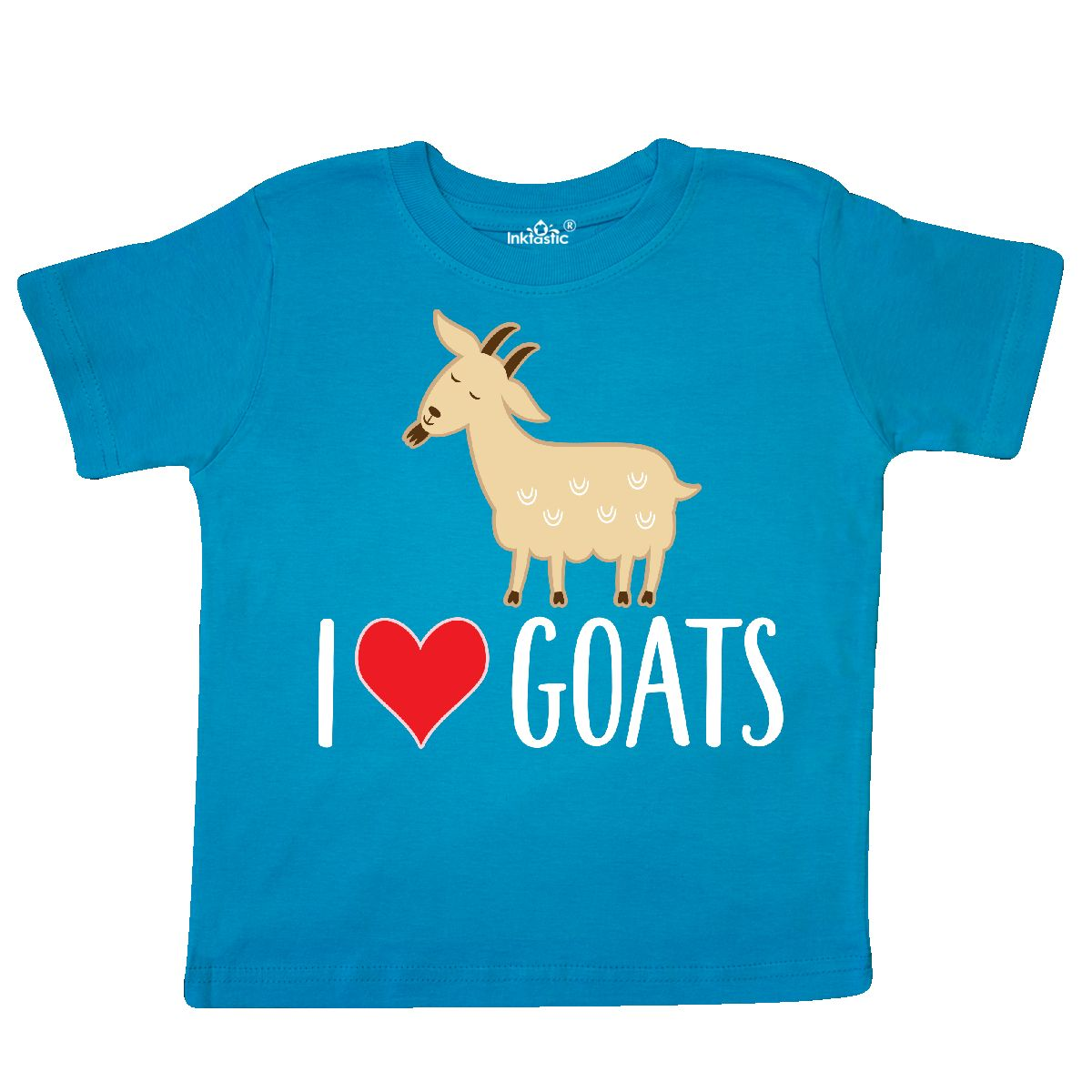 Inktastic-Goat-Cute-I-Love-Goats-Farm-Animal-Toddler-T-Shirt-Lover-Farmer-Gift thumbnail 15