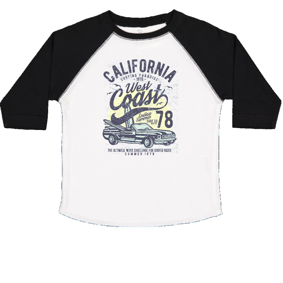 0b910089d Inktastic California West Coast Toddler T-Shirt Surfer Surfing ...