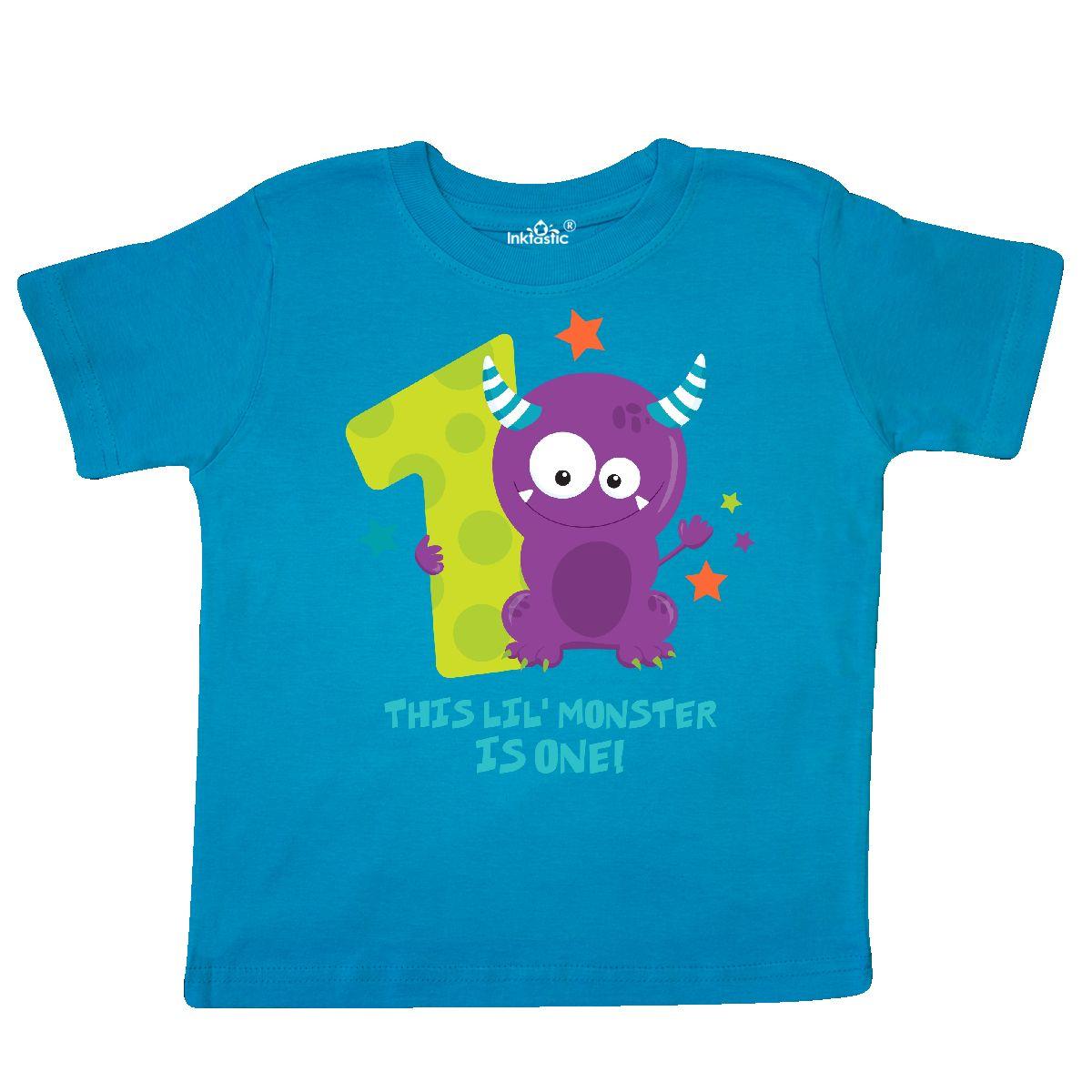 Inktastic Monster 1st Birthday Toddler T-Shirt Little