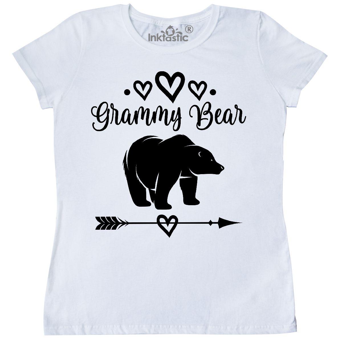 Inktastic Grammy Bear Grandma Gift Women s T-Shirt Present Tribal ... 8d6ad0ef7f