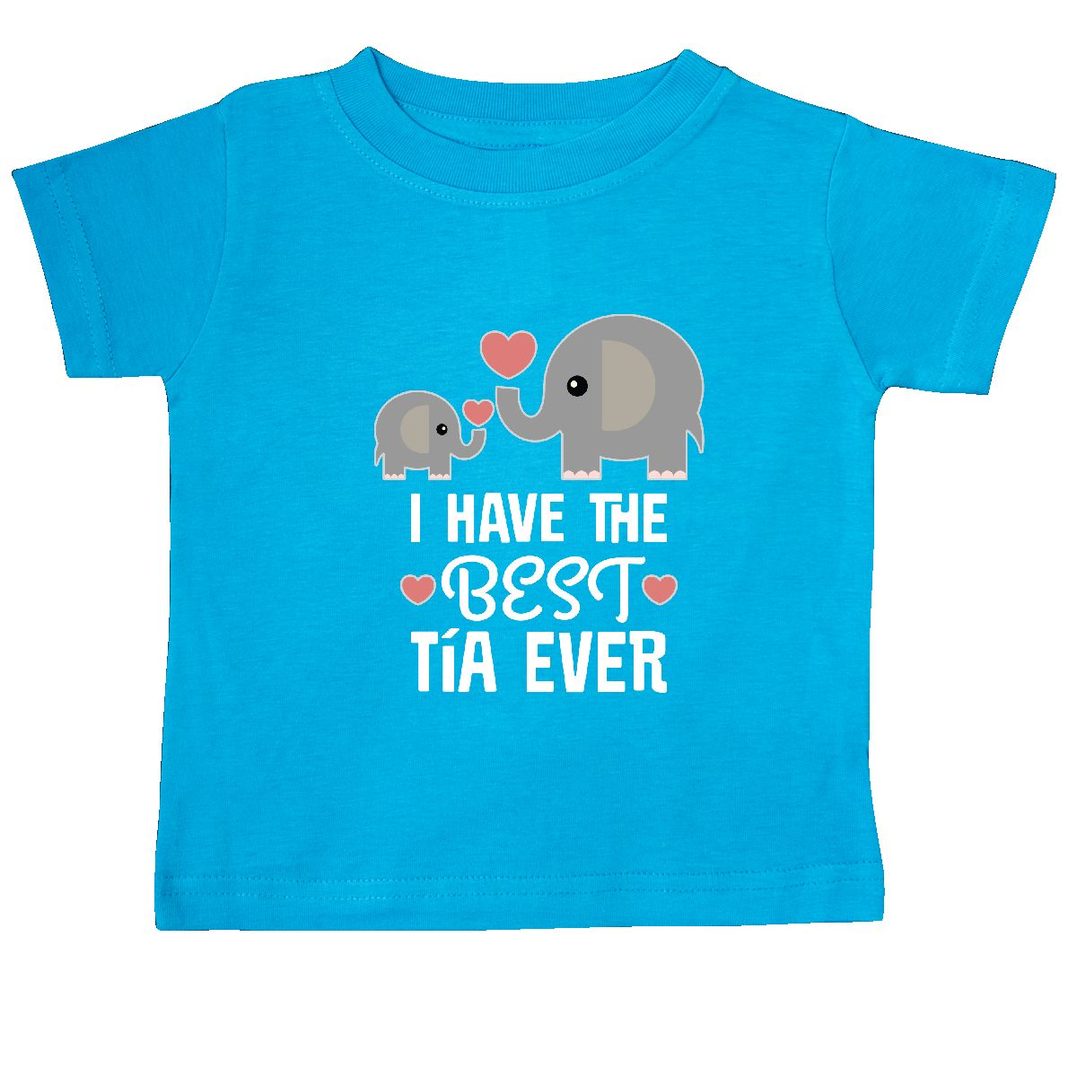 Inktastic Best Tia Ever Niece Nephew Gift Baby T-Shirt Aunt From ...