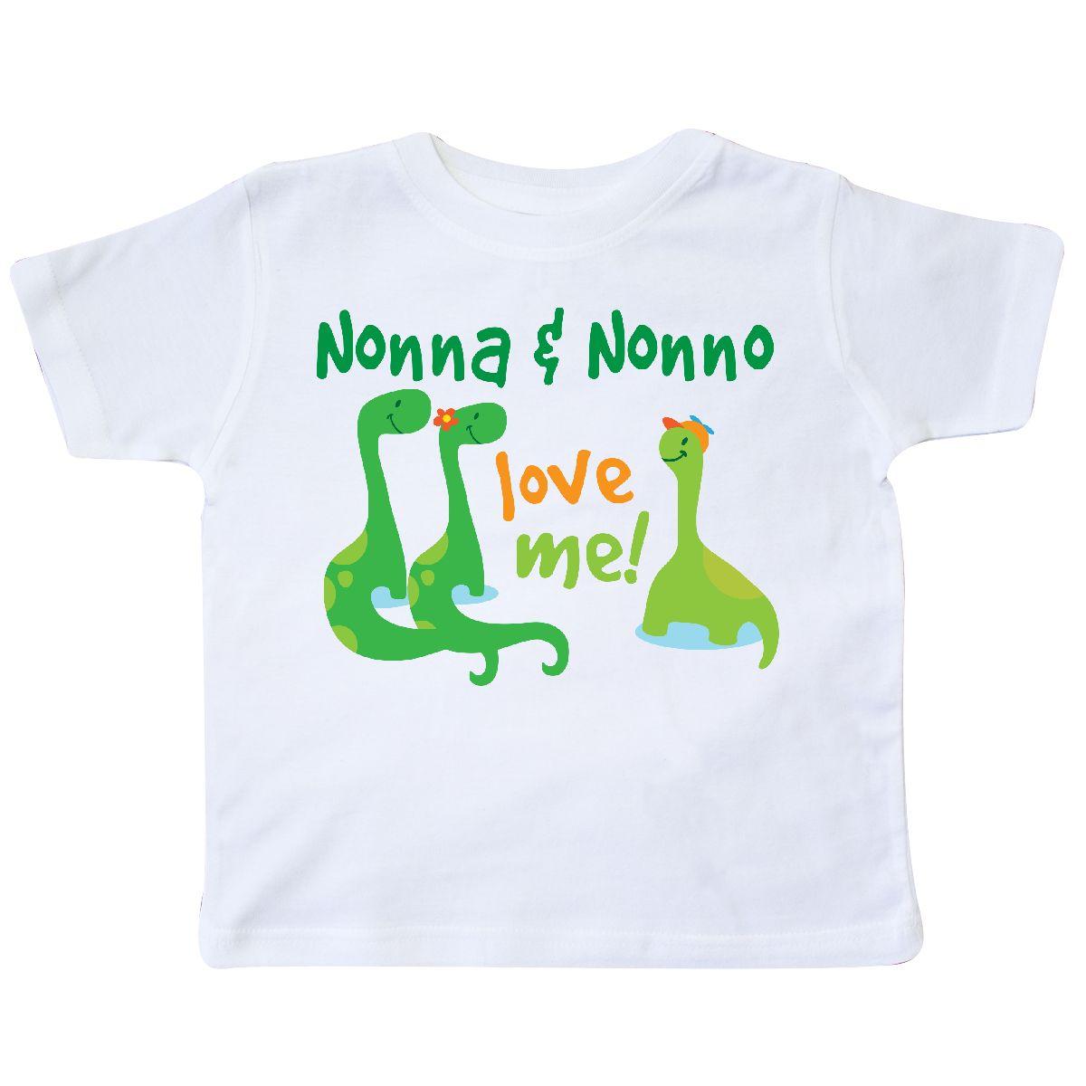 Toddler//Kids Short Sleeve T-Shirt My Nana in Indiana Loves Me