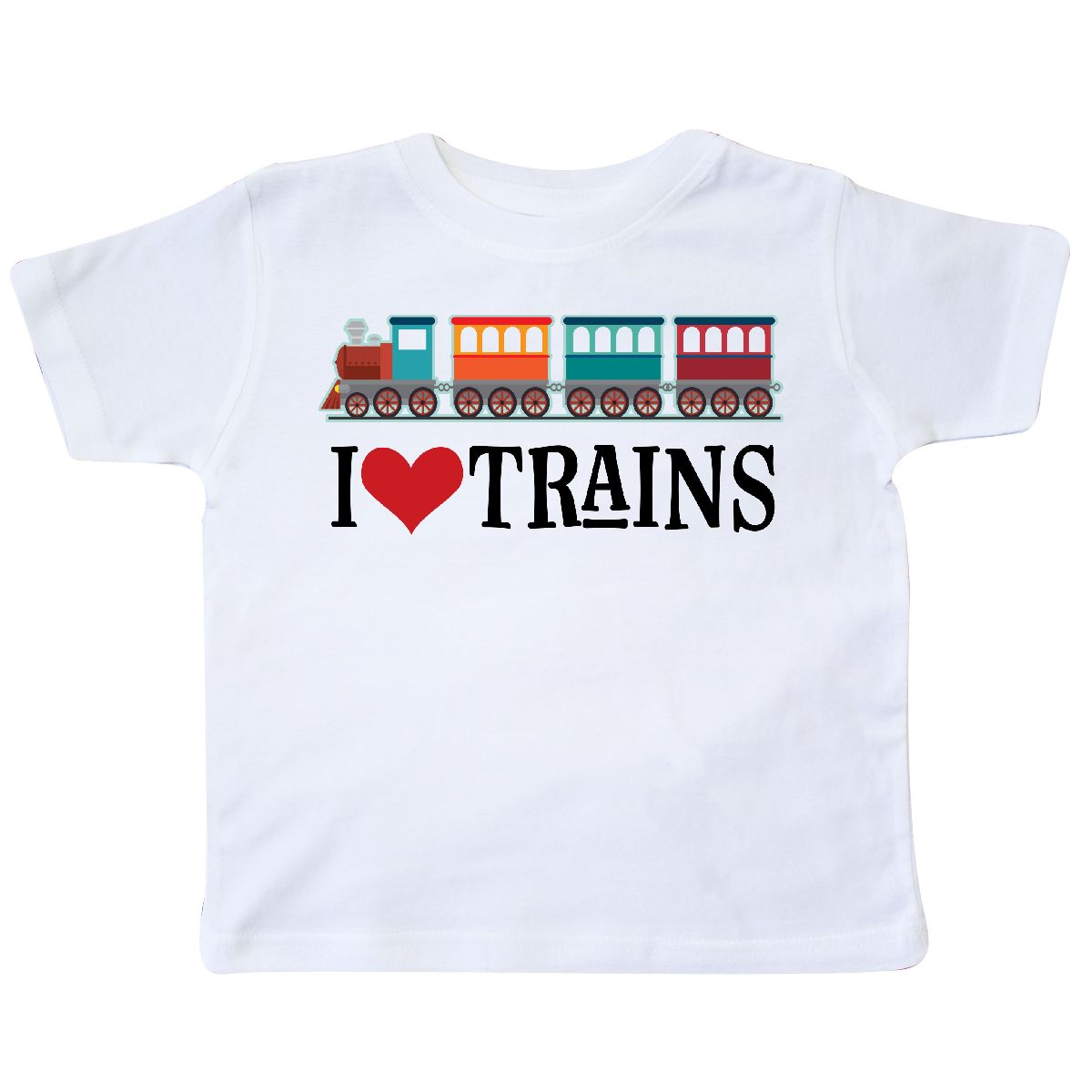 Inktastic-I-Love-Trains-Toddler-T-Shirt-Choo-Childs-Clothing-Apparel-Railfan-Set thumbnail 27