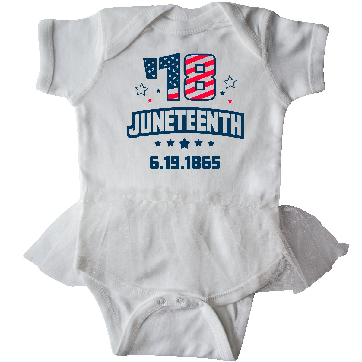inktastic Black History Month Africa in White Infant Tutu Bodysuit