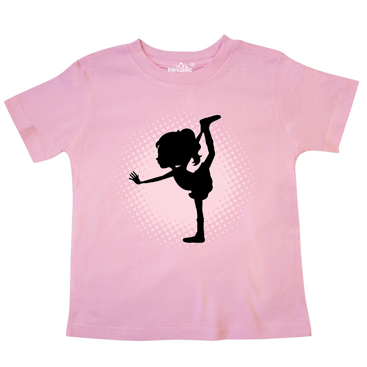 d5a2725e2 Inktastic Ballet Dancer Girl Ballerina Toddler T-Shirt Dance Dancing ...