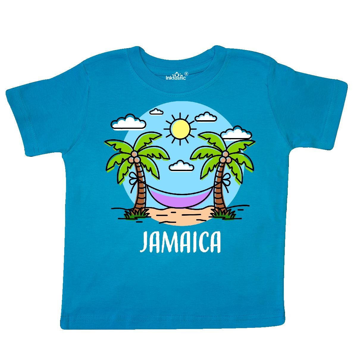 inktastic I Make Summer Look Good with Sun and Umbrella Baby T-Shirt