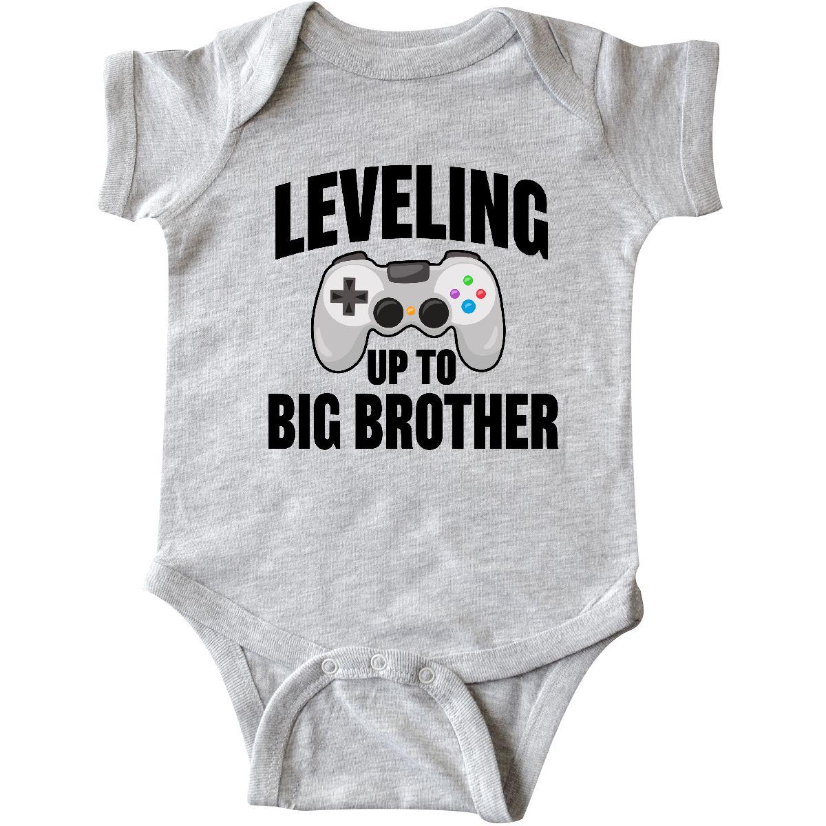 Best Lil Bro Ever Little Brother Younger Son Shower Gift Boys Romper Bodysuit
