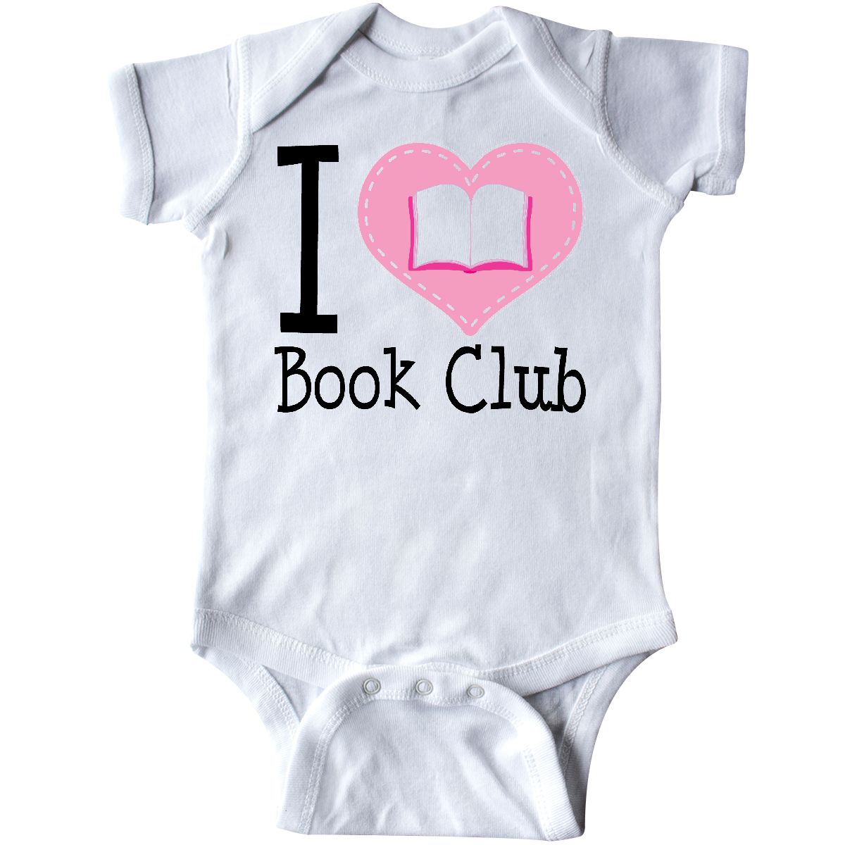 inktastic I Love Book Club Reading Gift Toddler T-Shirt