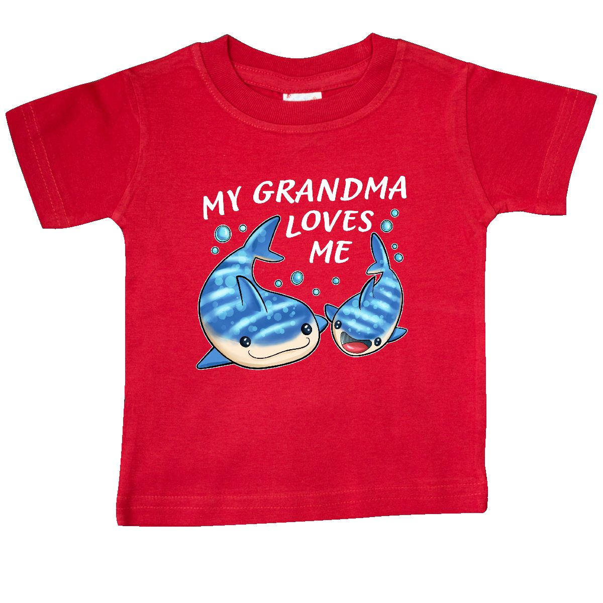Whale Shark Baby T-Shirt inktastic My Oma Loves Me