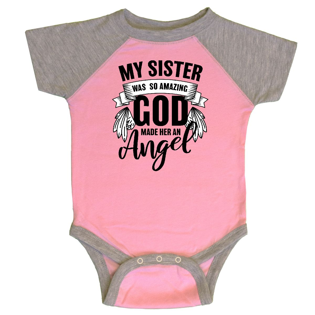 inktastic My Sister was So Amazing God Made Her an Angel Toddler T-Shirt