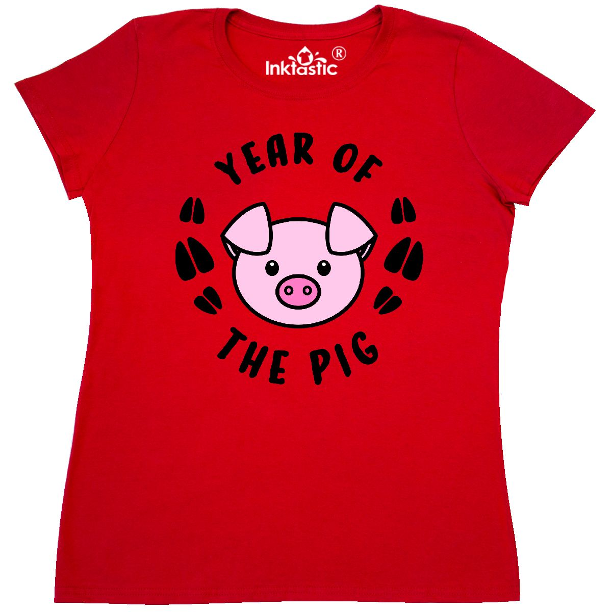 3c2e3f01 Inktastic Year Of The Pig Chinese Zodiac Women's T-Shirt 1959 2019 ...