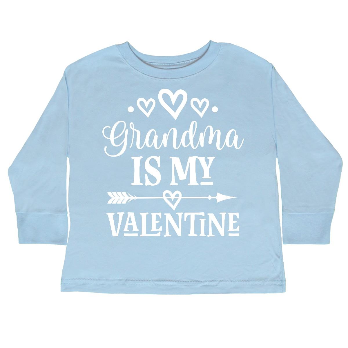 inktastic My Yaya Loves Me Grandchild Gift Toddler Long Sleeve T-Shirt