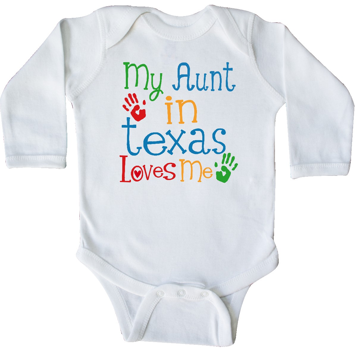 inktastic My Aunt in Texas Loves Me Baby T-Shirt