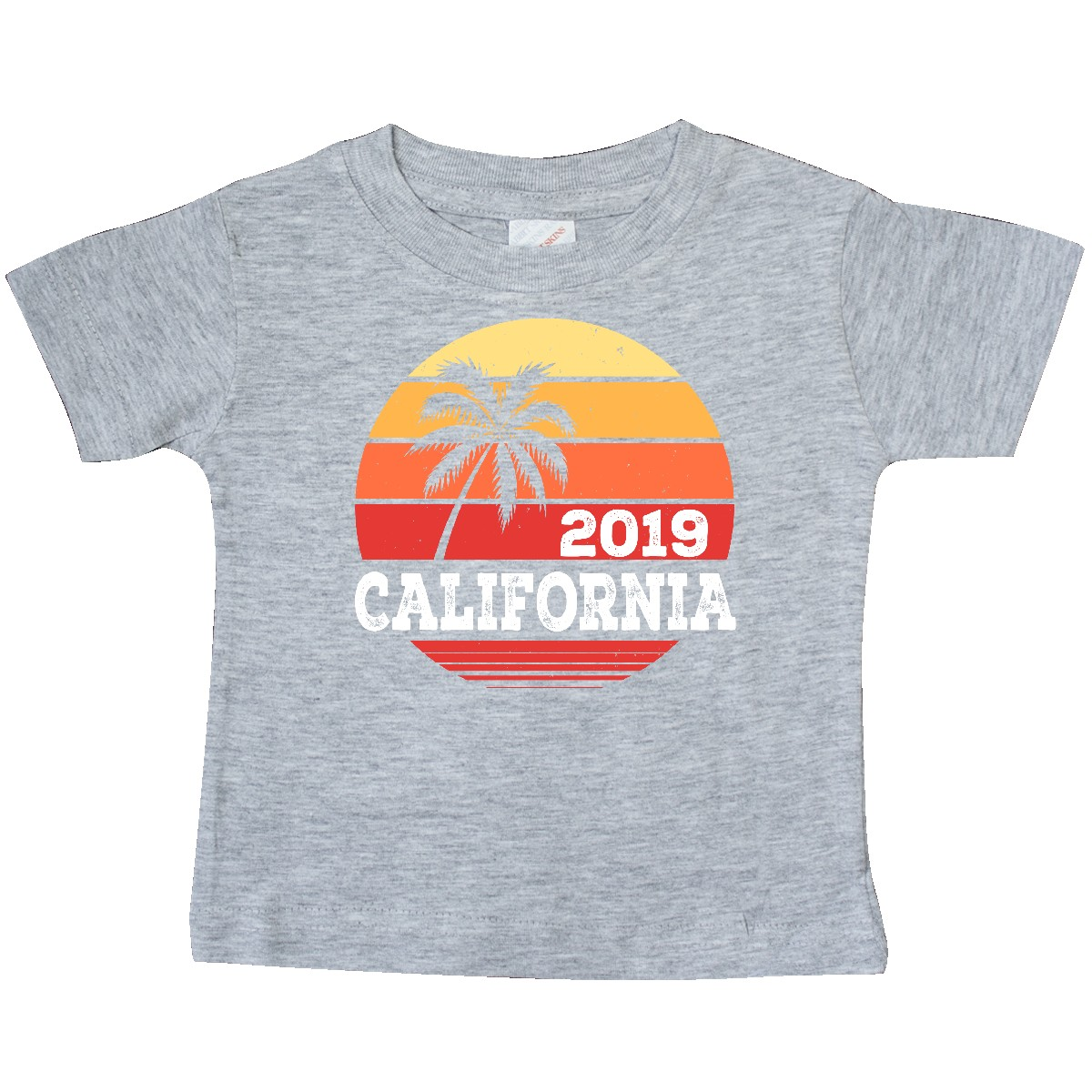 inktastic 2020 California Vacation Trip Toddler T-Shirt