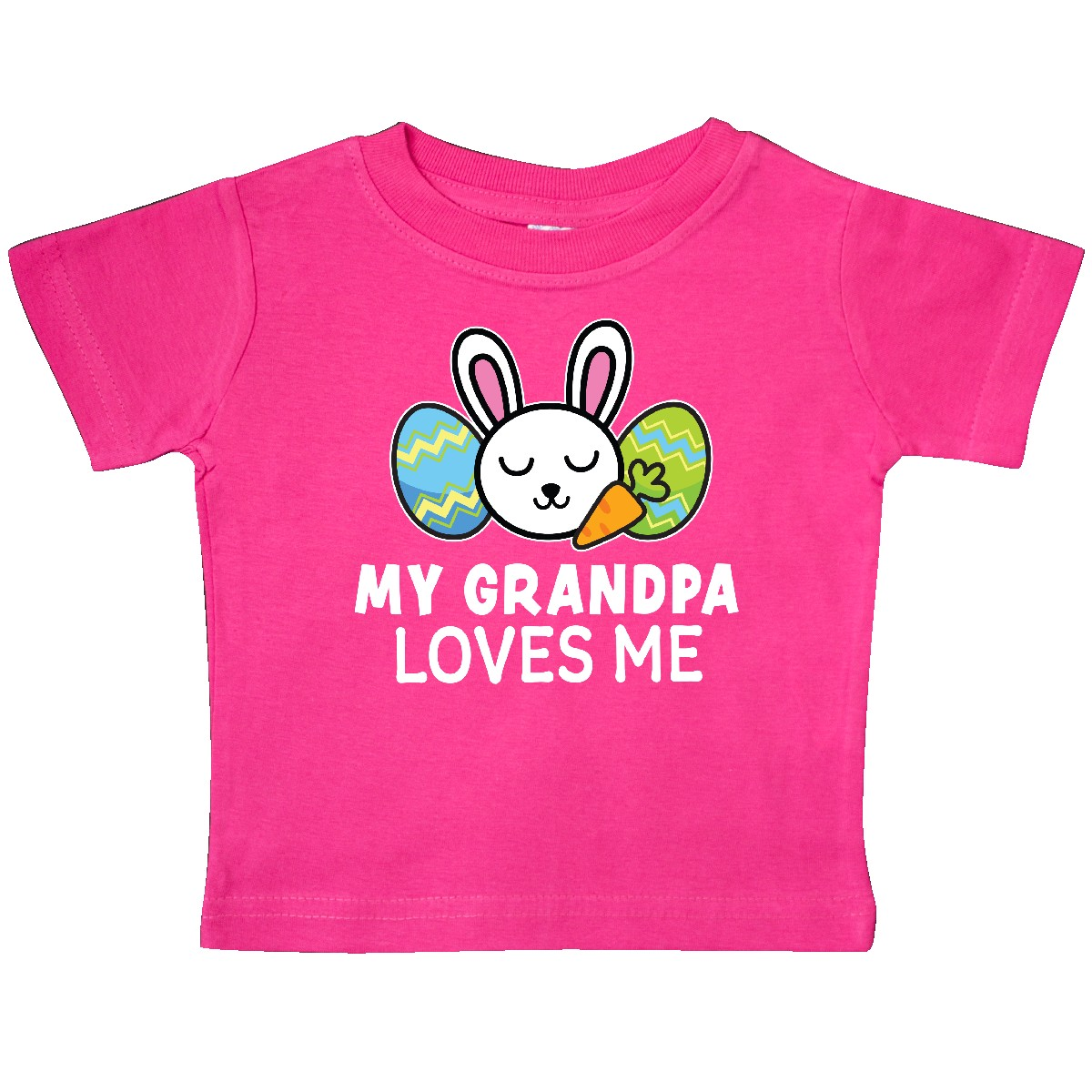 Inktastic My Papa Loves Me Grandchild Toddler T-Shirt Gift From Grandpa Elephant