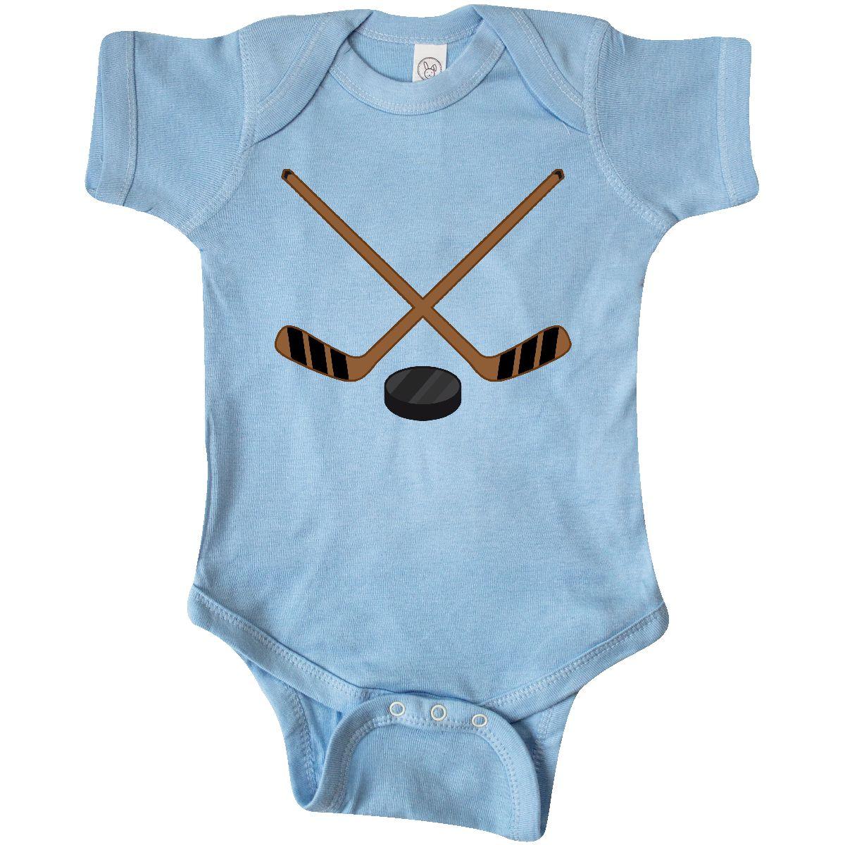 Inktastic Sports Hockey Sticks Infant Creeper Player Stick ...