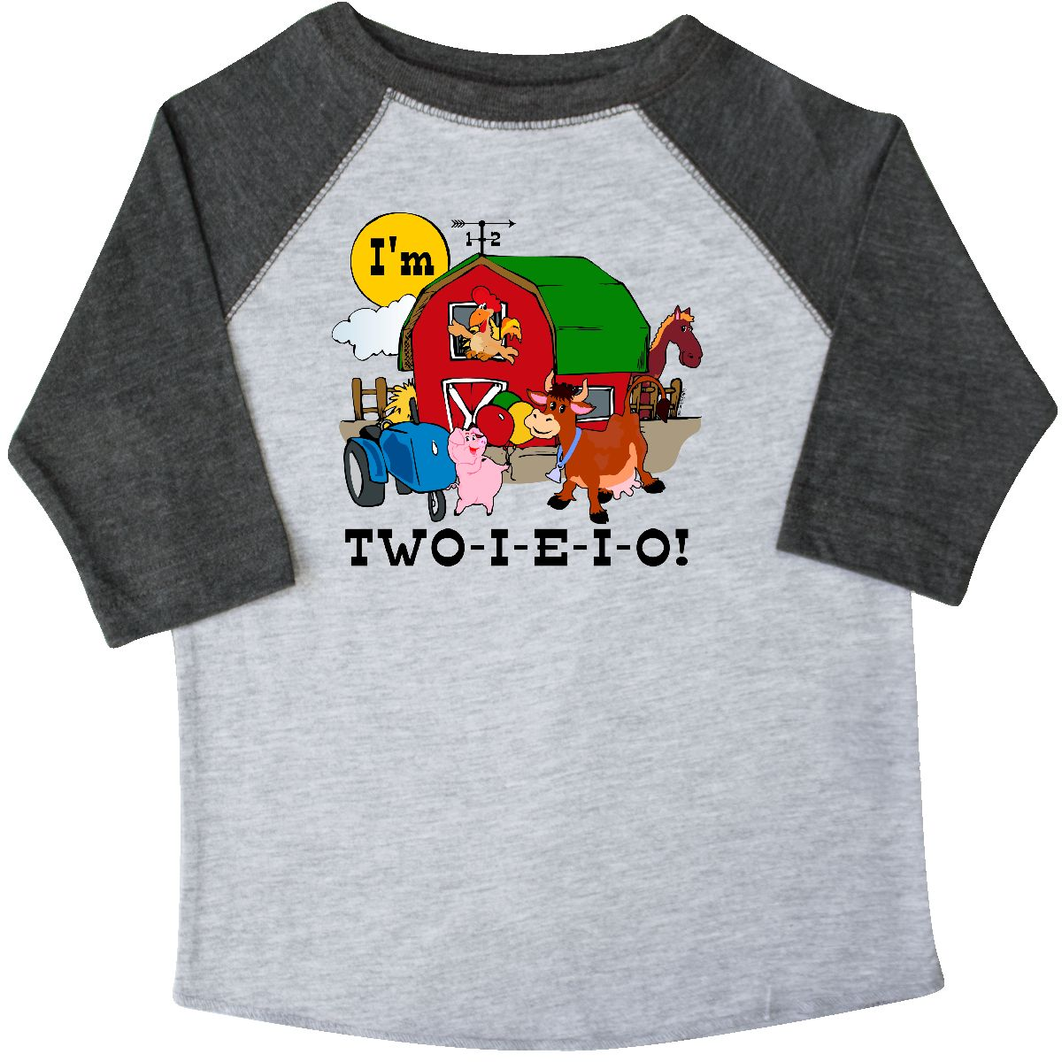 Inktastic TWO I E O Toddler T Shirt 2nd Birthday