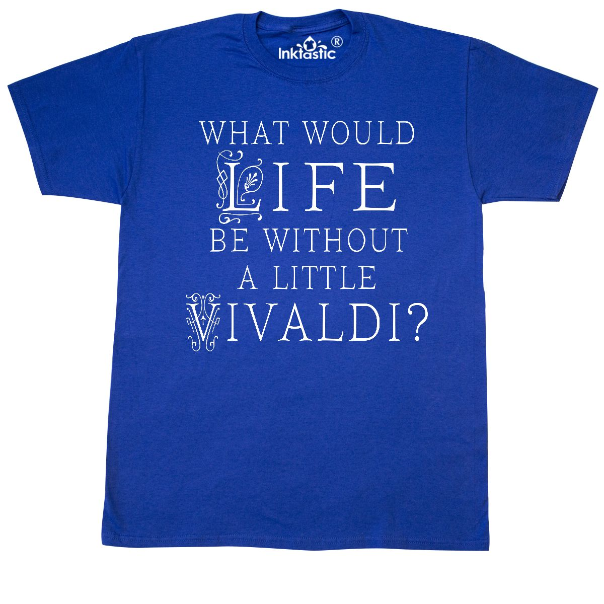 Inktastic Antonio Vivaldi Music Gift T-Shirt Classical Composer Musician Mens