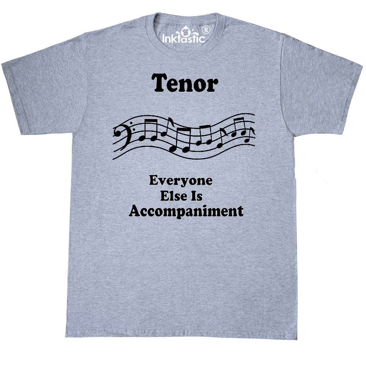 3dff2f8c7 Inktastic Funny Tenor Singer Choir Gift T-Shirt Section Music ...