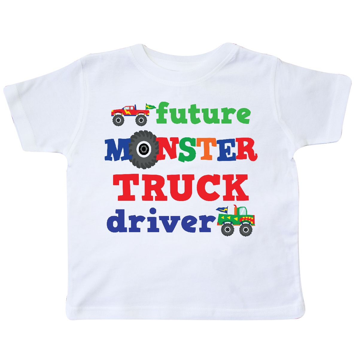 7bd804a4 ... inktastic monster truck future driver toddler t shirt transportation;  custom ...