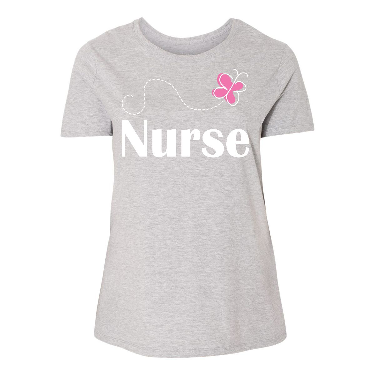 22e8eb5b36 Inktastic Nurse Cute Gift Women's Plus Size T-Shirt Nursing ...