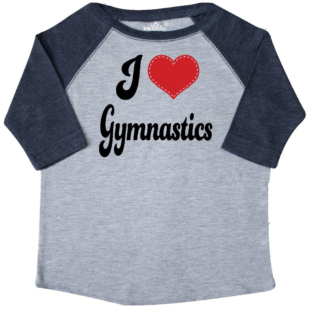 inktastic Gymnastics is My Life Toddler T-Shirt