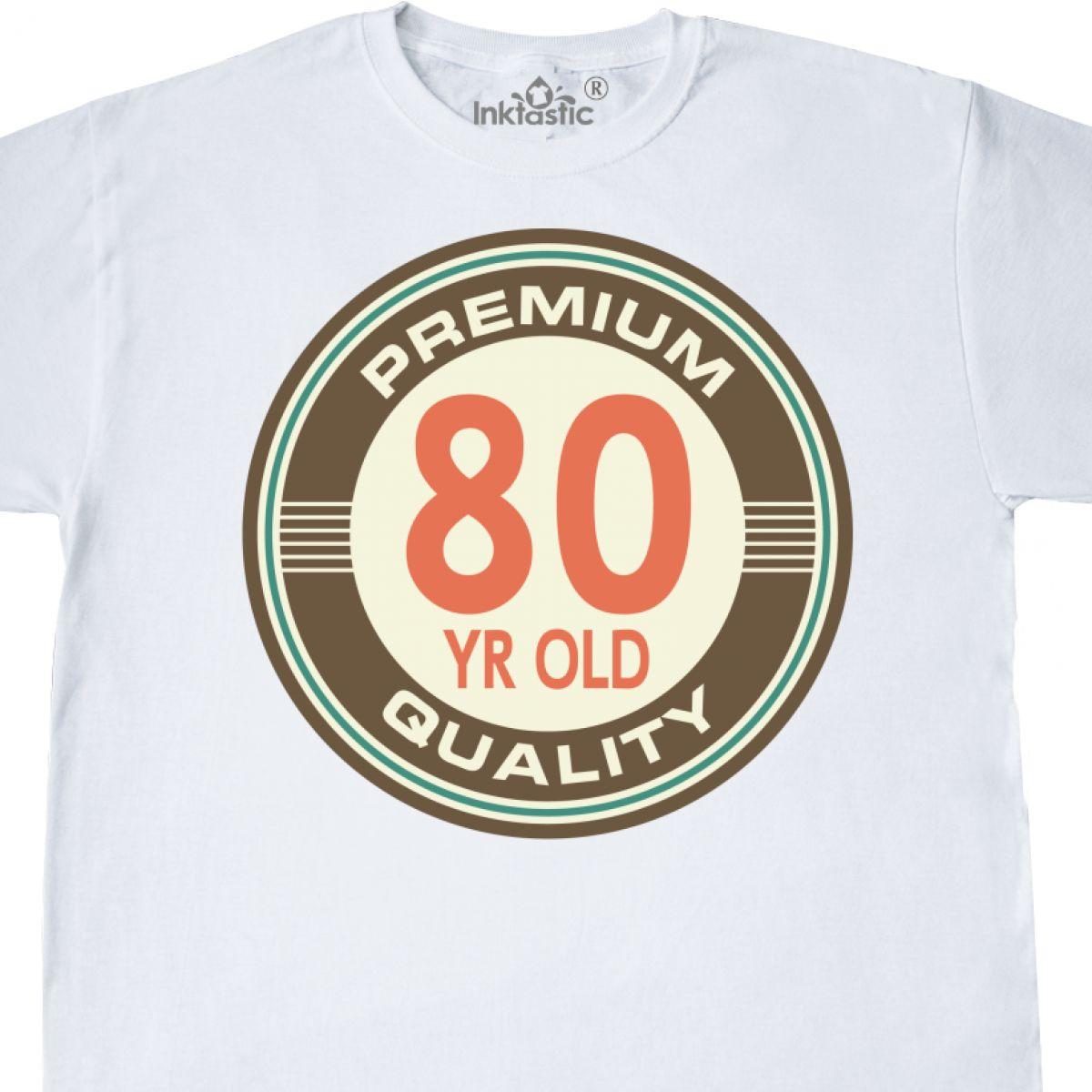 Inktastic Funny 80th Birthday Vintage T Shirt 80