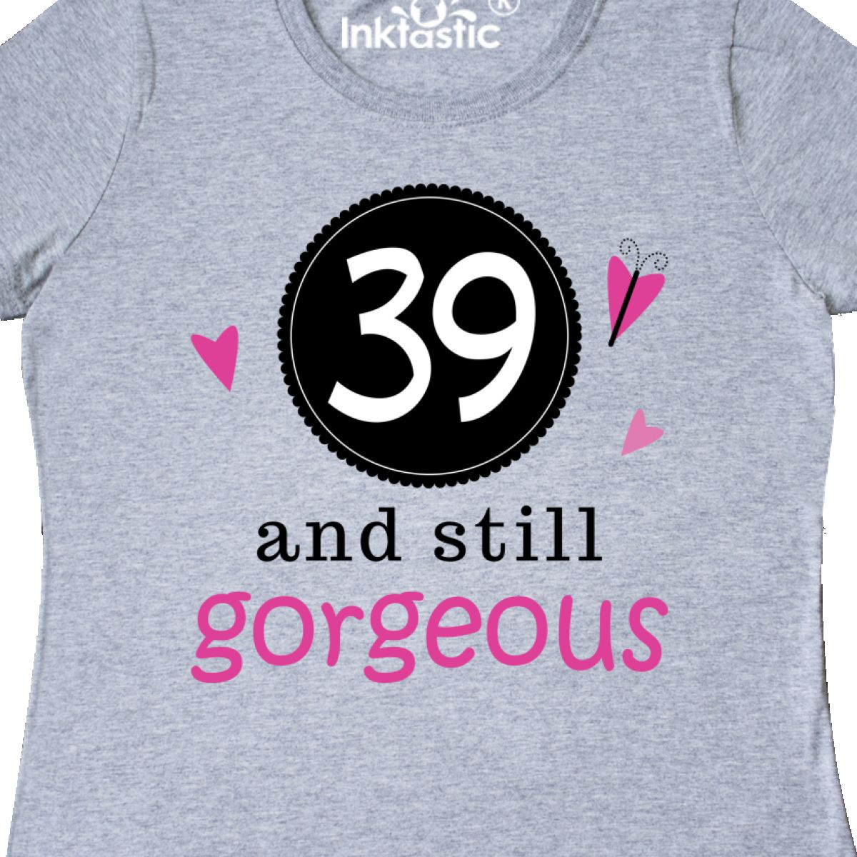 Inktastic-39th-Birthday-Gorgeous-Women-039-s-T-Shirt-39-Years-Old-Turning-Im-Cute