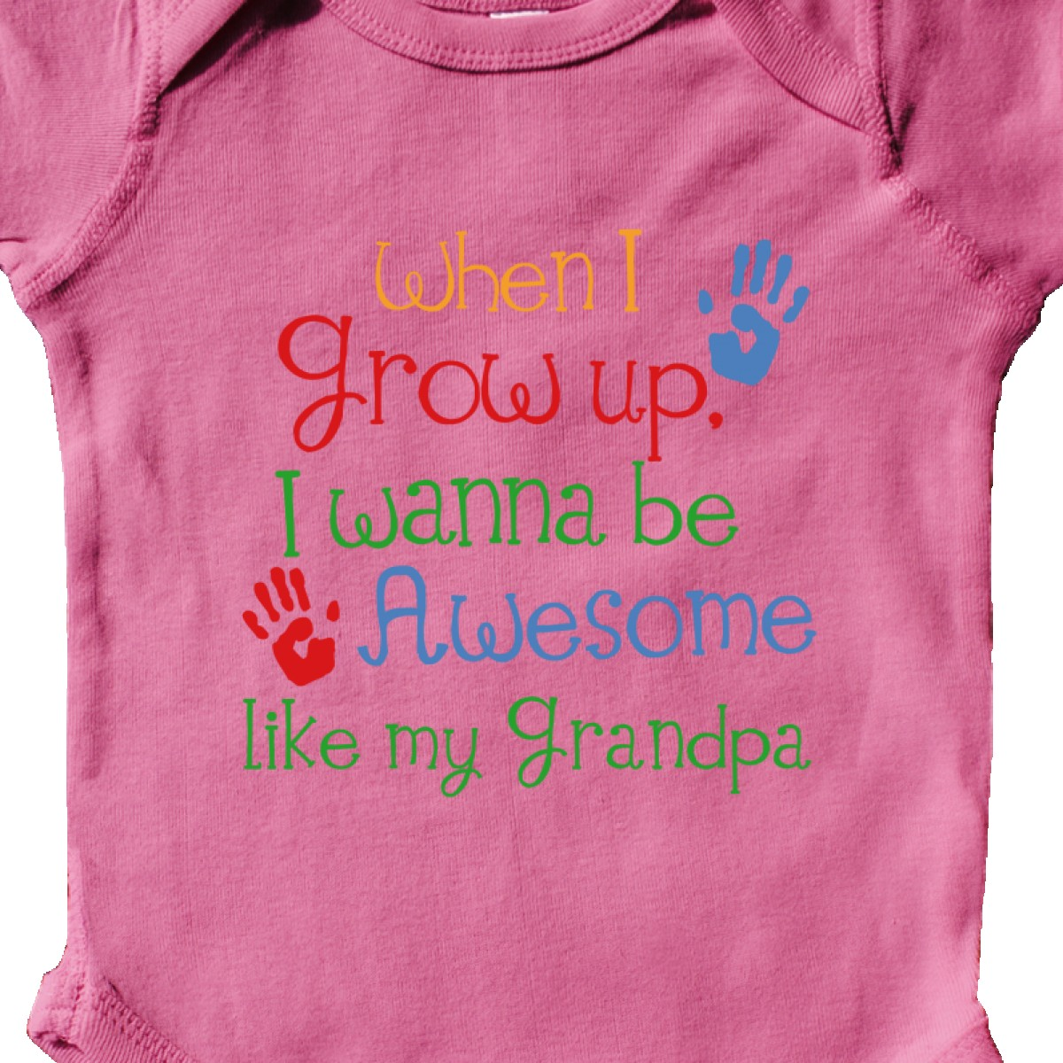 inktastic awesome like my grandpa infant bodysuit grandfather