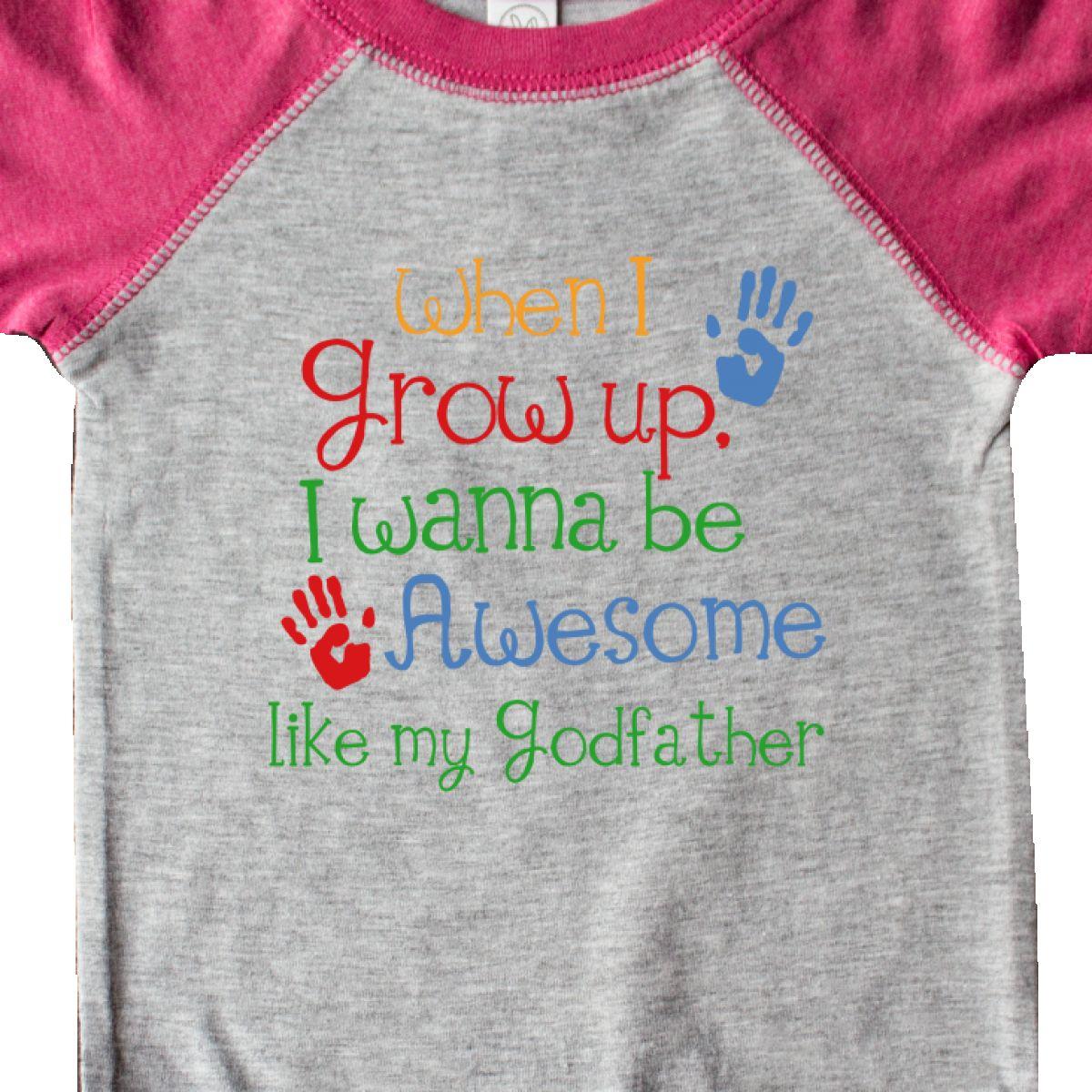 b5bf9844b Inktastic Awesome Like My Godfather Infant Creeper Godchild From ...