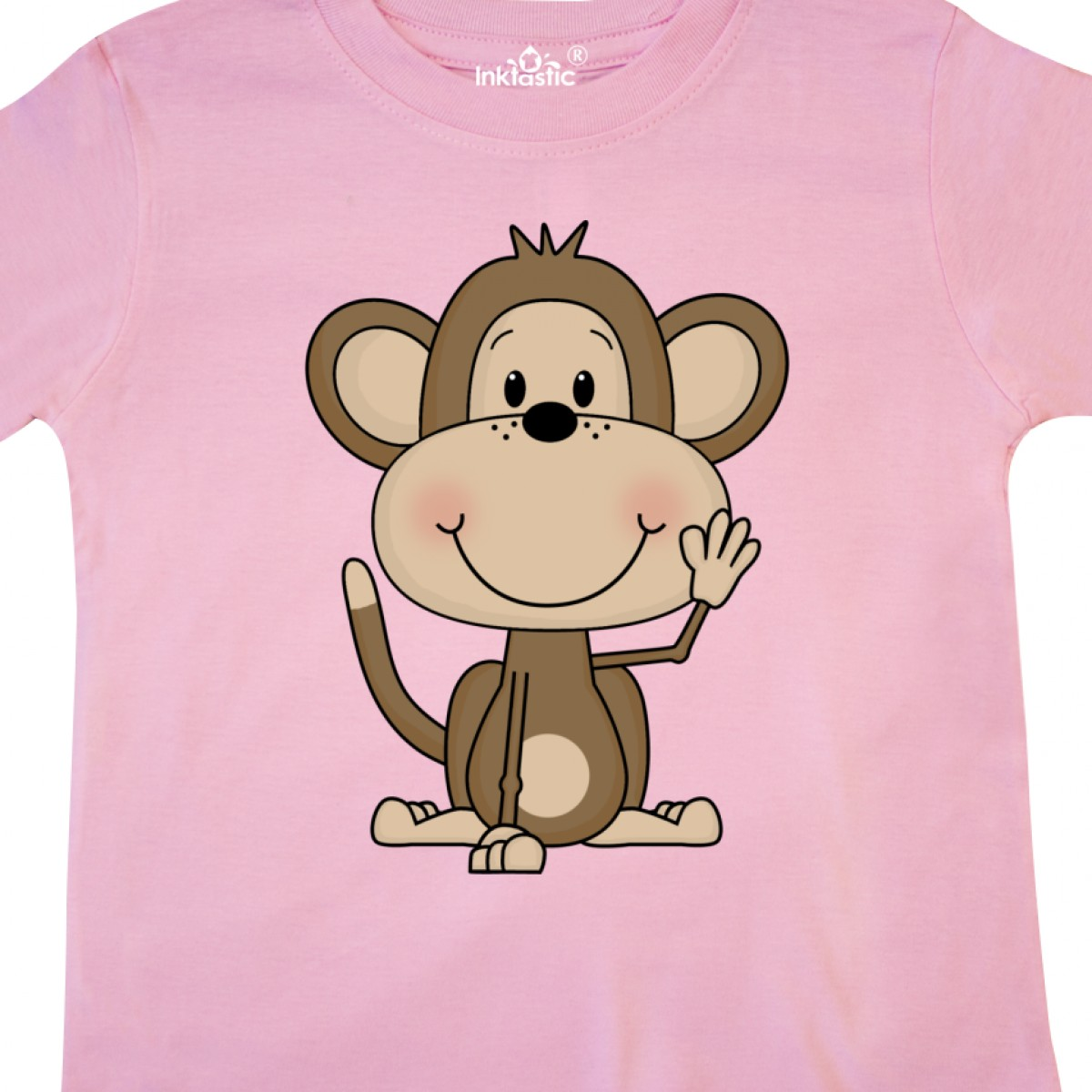 Inktastic-Monkey-Toddler-T-Shirt-Cute-Baby-Monkeys-Bananas-Giraffe-Acrobats-Of thumbnail 10
