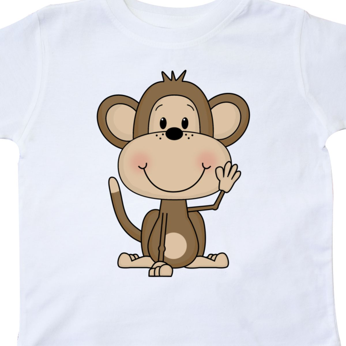 Inktastic-Monkey-Toddler-T-Shirt-Cute-Baby-Monkeys-Bananas-Giraffe-Acrobats-Of thumbnail 12