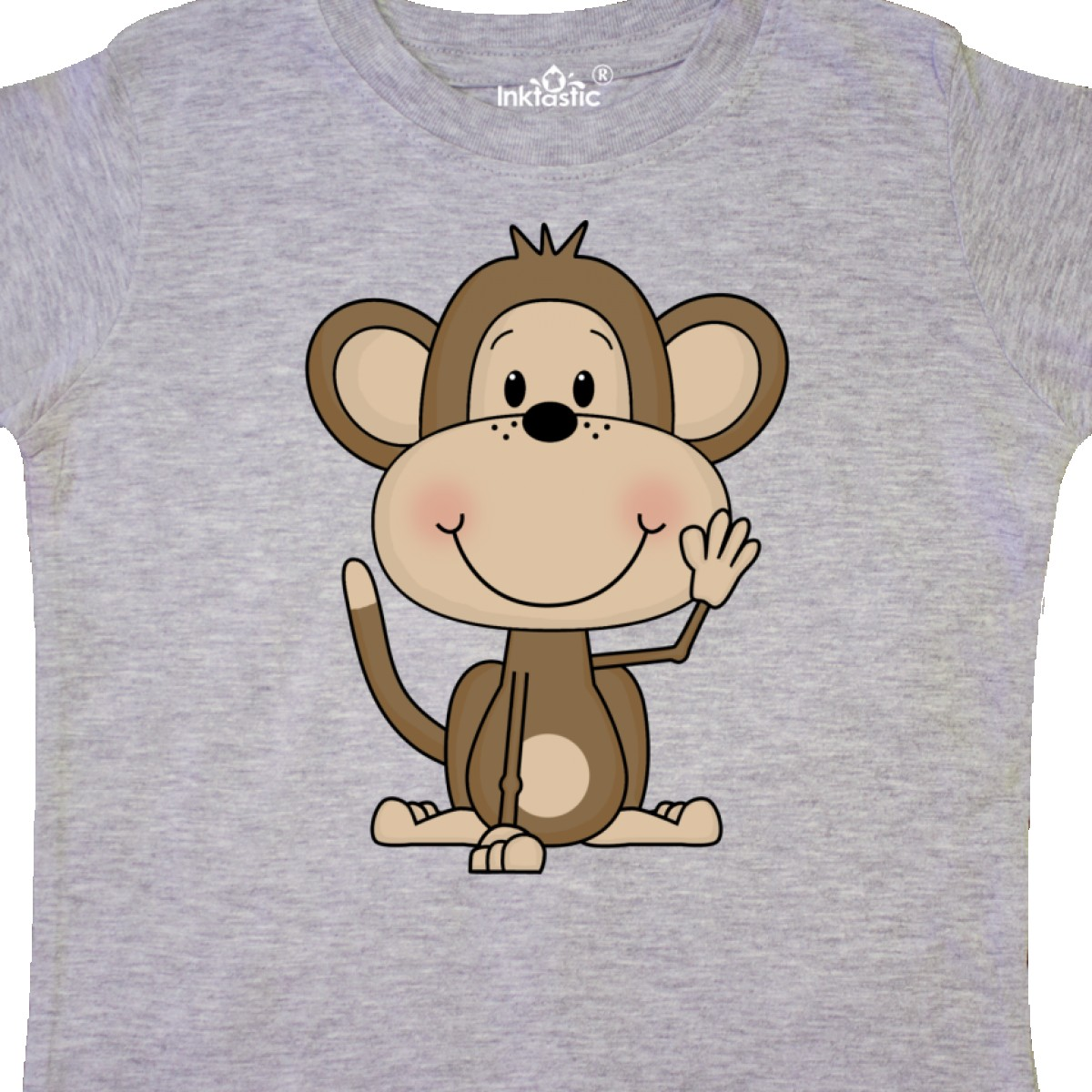 Inktastic-Monkey-Toddler-T-Shirt-Cute-Baby-Monkeys-Bananas-Giraffe-Acrobats-Of thumbnail 8
