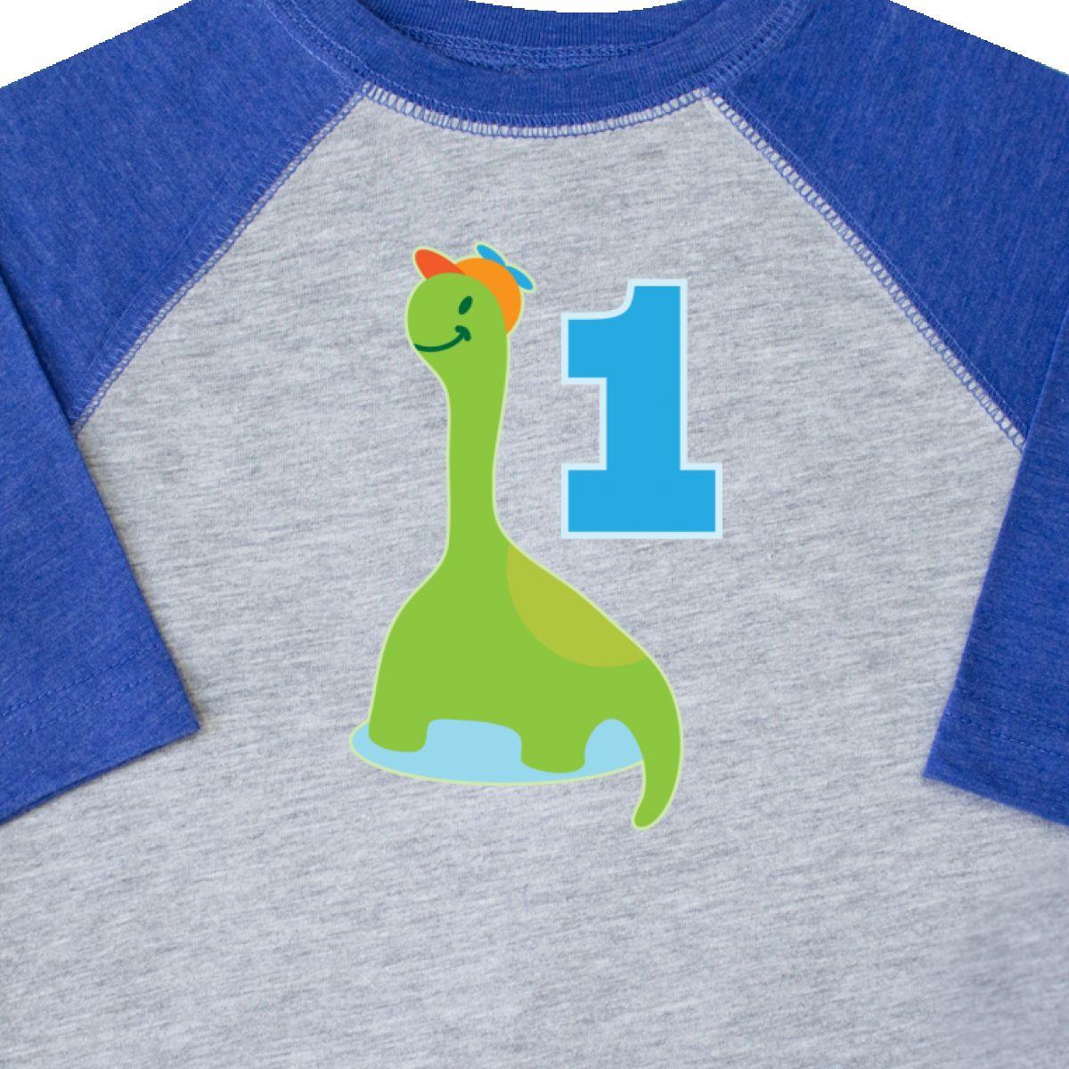 Inktastic Dinosaur Boys 1st Birthday Party Toddler T