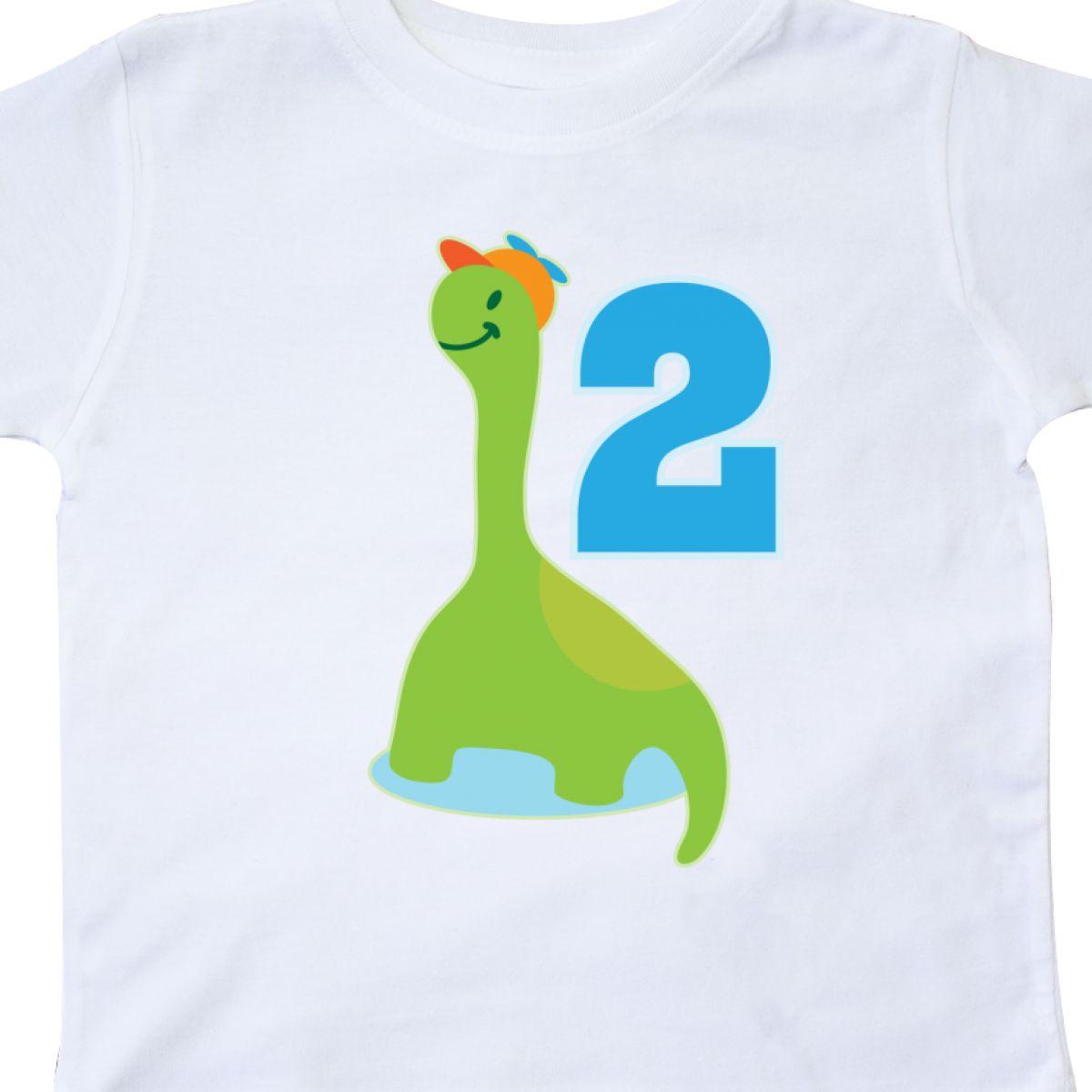 Inktastic Dinosaur 2nd Birthday Boys Cute Dino Toddler