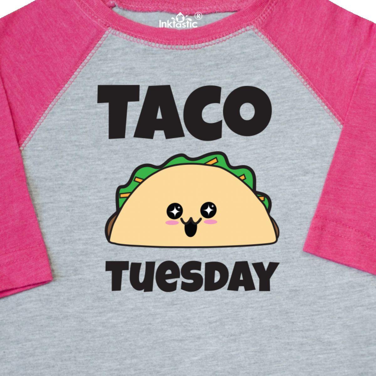 4adc183f2 Inktastic Kawaii Taco Tuesday Toddler T-Shirt Harajuku Japanese Food ...