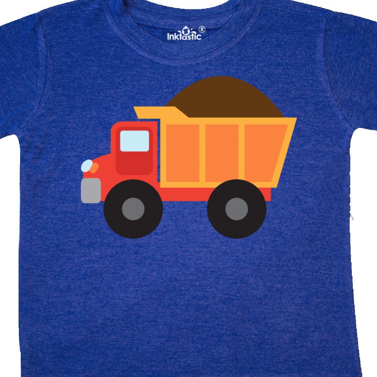 Inktastic-Work-Truck-Construction-Vehicle-Toddler-T-Shirt-Trucks-Vehicles-Cute thumbnail 30