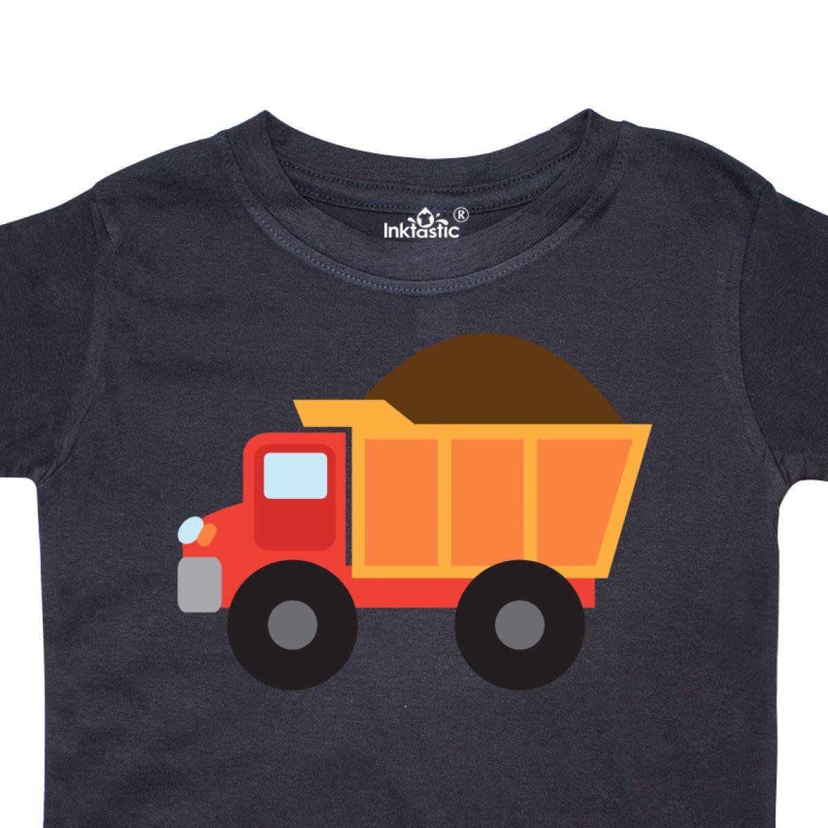 Inktastic-Work-Truck-Construction-Vehicle-Toddler-T-Shirt-Trucks-Vehicles-Cute thumbnail 6