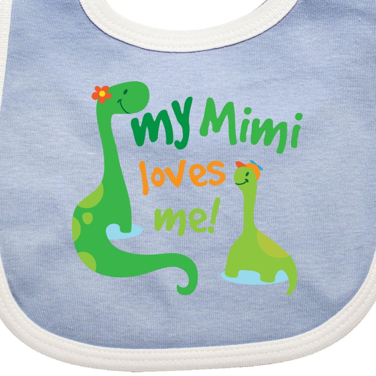 Inktastic-My-Mimi-Loves-Me-Grandson-Gift-Baby-Bib-Dinosaur-Cute-Grandchild-Boys