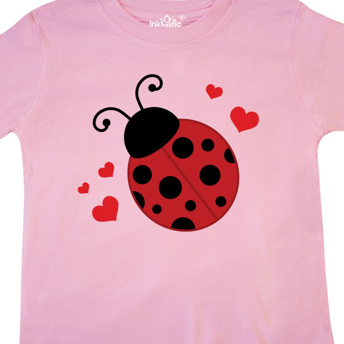 Inktastic-Lady-Bug-And-Hearts-Toddler-T-Shirt-Ladybug-Lover-Bugs-Insects-Cute thumbnail 6