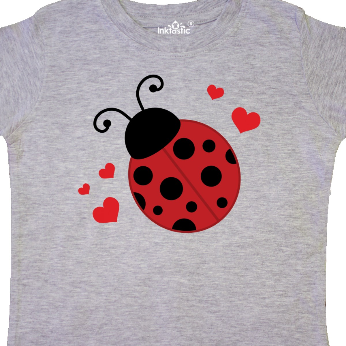Inktastic-Lady-Bug-And-Hearts-Toddler-T-Shirt-Ladybug-Lover-Bugs-Insects-Cute thumbnail 4