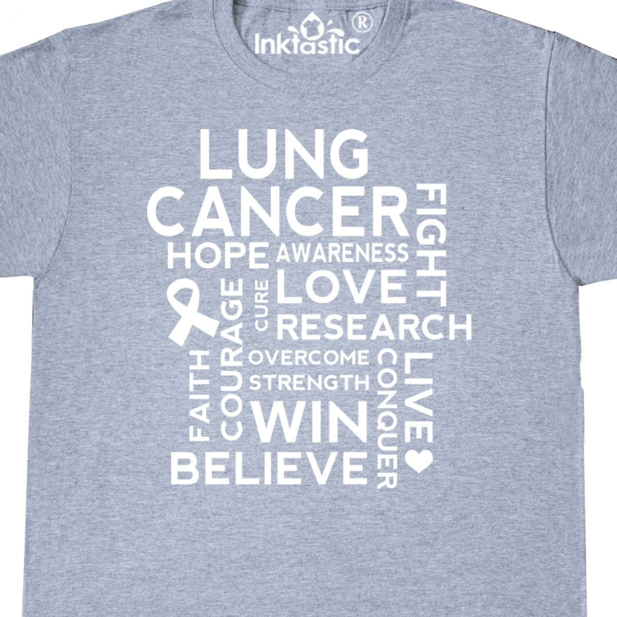 362dfd113f0 Lung Cancer Survivor T Shirts