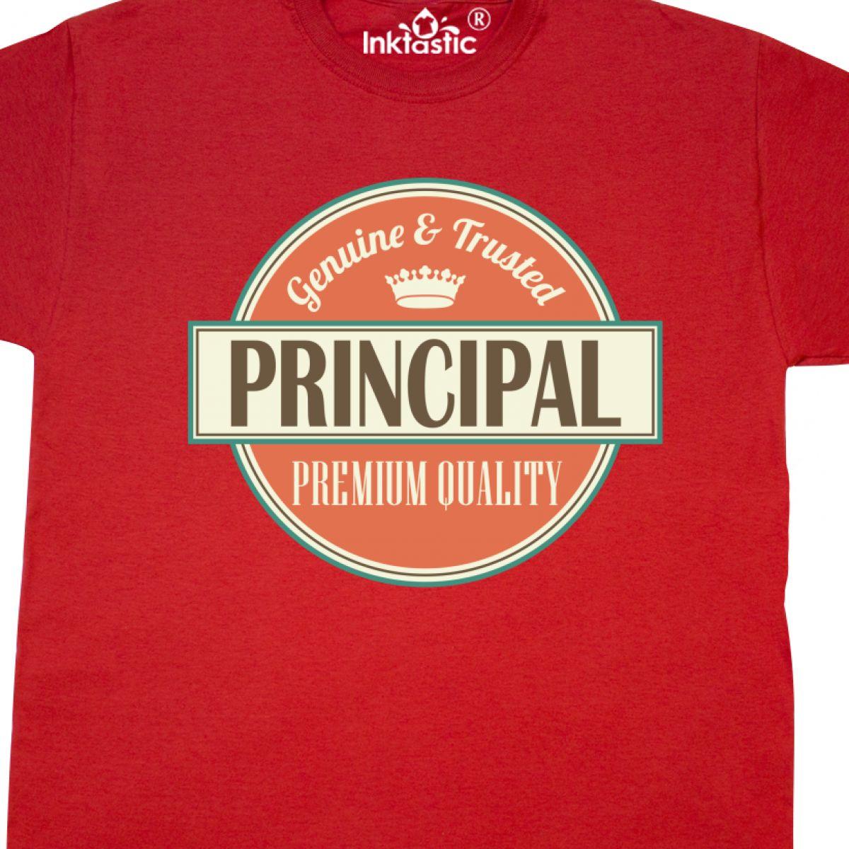 Inktastic Principal Gift Vintage T Shirt School Retired Appreciation High Idea