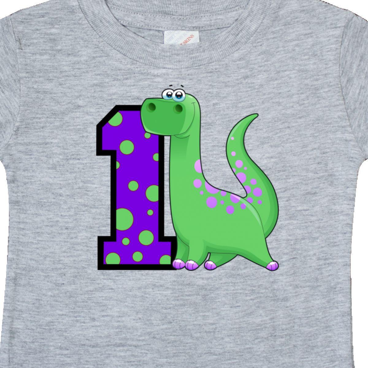 Inktastic Dinosaur 1st Birthday Baby T Shirt 1