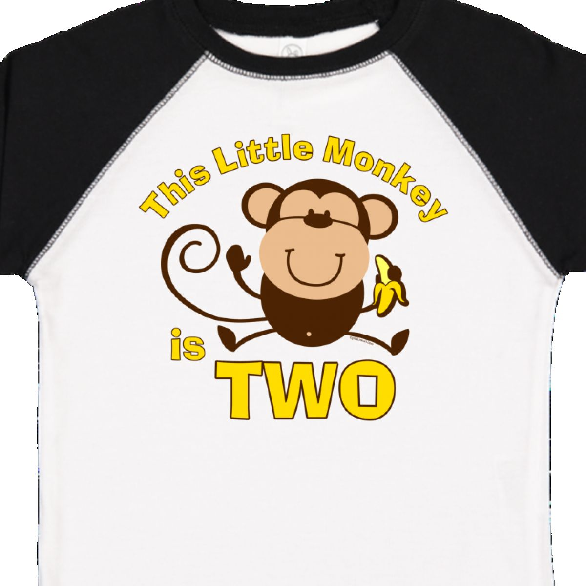 Inktastic Little Monkey 2nd Birthday Boy Toddler T