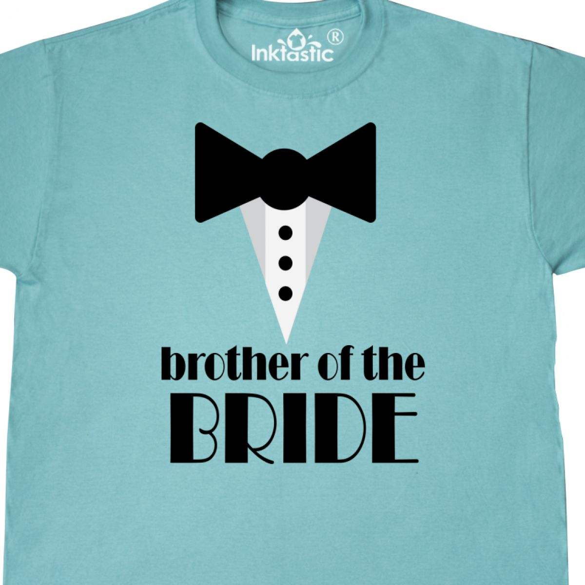 Inktastic Brother Of The Bride T-Shirt Gift Brides Wedding Party ...