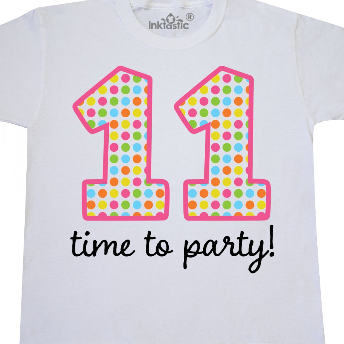 Inktastic 11th Birthday Party Youth T Shirt 11