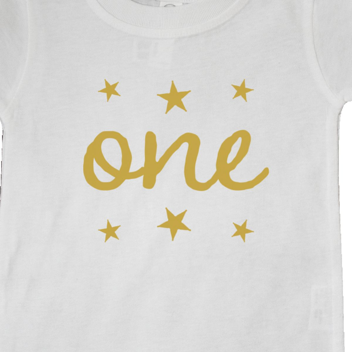 Inktastic-1st-Birthday-Outfit-One-Gold-Baby-T-Shirt-Apparel-Im-Cute-Boy-Girl-Hws thumbnail 6